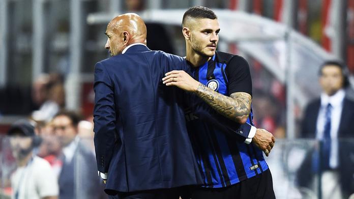 Spalletti: «Era giusto non far giocare Icardi, è umiliante dover trattare con Icardi»