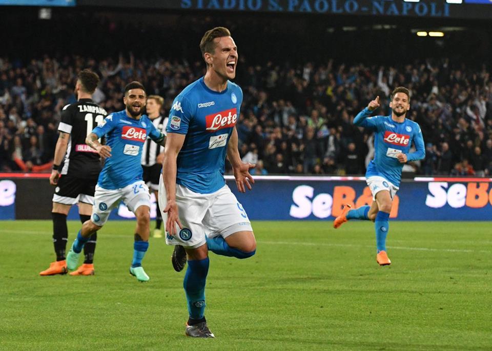 Sampdoria-Napoli, la probabile formazione: Milik coi titolarissimi