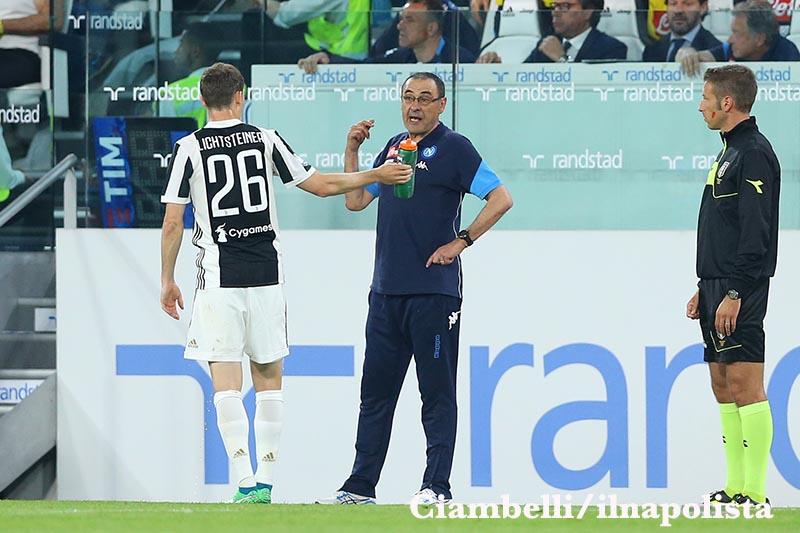 Sarri: «Resto al Napoli? Non dipende dai risultati, ma se posso dare il 110%»