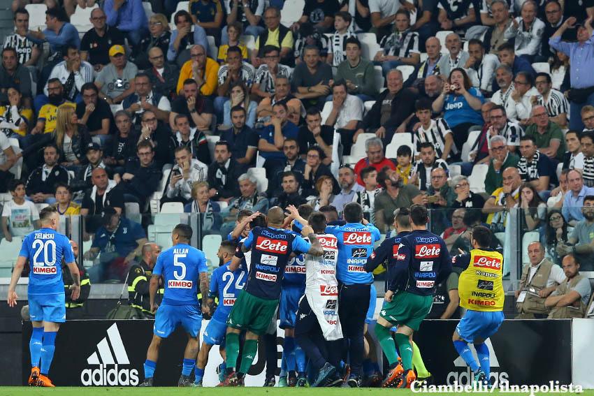 La vittoria in casa della Juventus ha nascosto il crollo del Napoli
