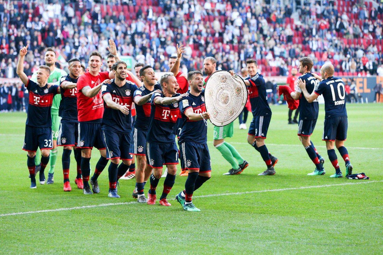 Il Bayern ha (già) vinto la Bundesliga: il 4-1 all'Augusta vale il sesto titolo consecutivo