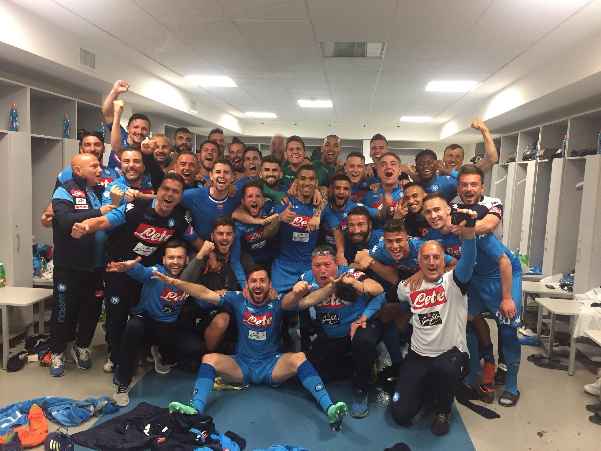 VIDEO – Juve-Napoli, la gioia dello spogliatoio dopo il successo allo Stadium