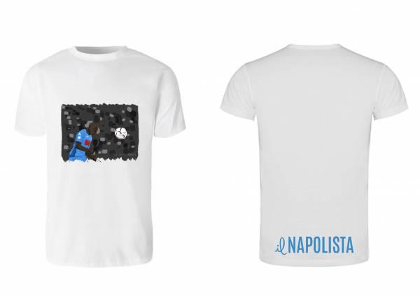 La maglietta Napolista di Juve-Napoli 0-1: il volo di Koulibaly