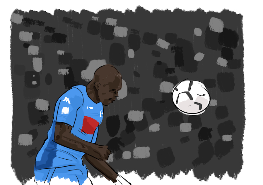 Koulibaly: «Eccola, è mia»
