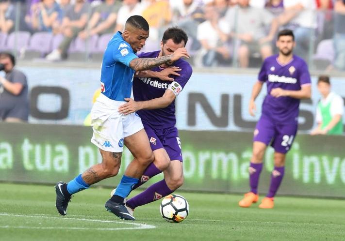 Fiorentina-Napoli 3-0, Simeone lancia la Juventus verso lo scudetto
