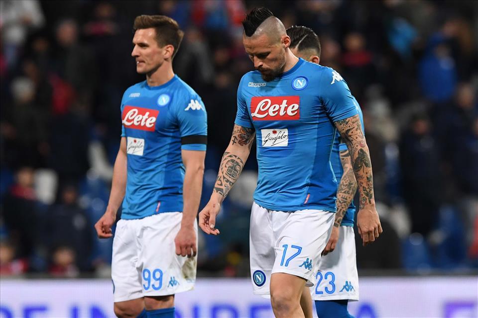 Gazzetta: «Calo vistoso del Napoli, il possesso non fa punteggio. Ma pesa l'assenza di Milik»
