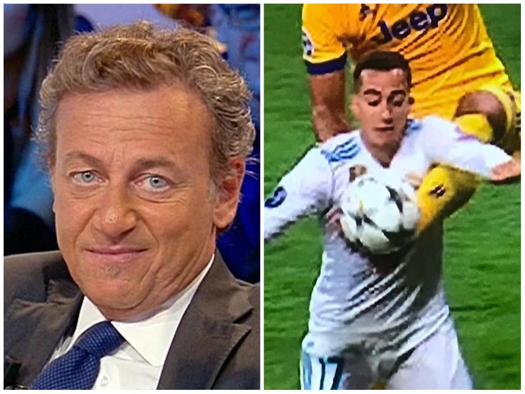 Il surreale post Real Madrid-Juventus a Mediaset: microfono aperto e claque in studio