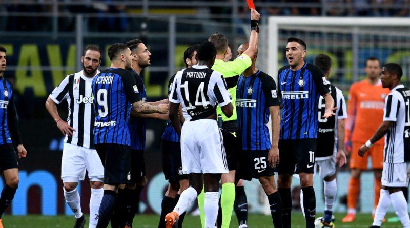 Gazzetta: Inter-Juve, per i vertici arbitrali è stato giusto usare il Var per espellere Vecino