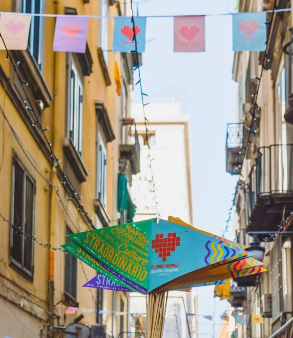 Il 21 aprile il #CUOREDINAPOLI per i vicoli dei Quartieri Spagnoli