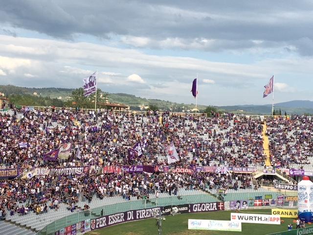 Fiorentina, 12mila euro di multa per cori di discriminazione territoriale