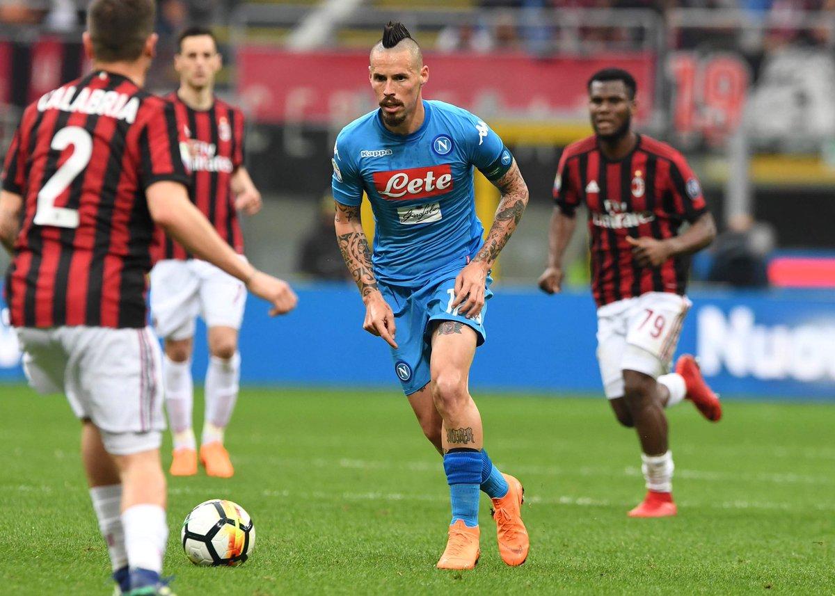 Napoli: nove punti in sei partite. Alcuni titolarissimi sono stanchi, il tiqui taca non è più vertical