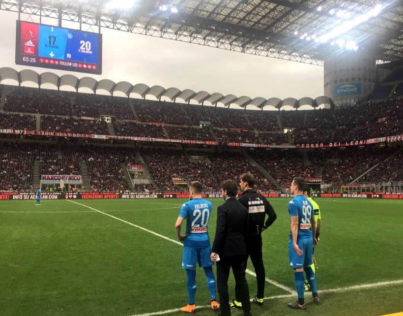 Milan-Napoli 0-0, partita equilibrata e incredibile Donnarumma nel finale