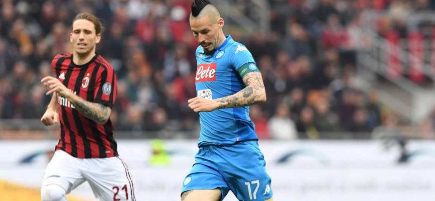 Milan-Napoli, secondo 0-0 a San Siro in questa stagione