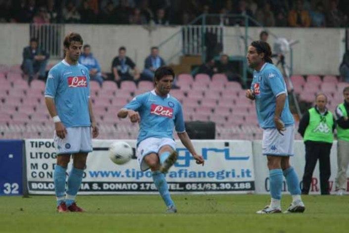 Napoli-Sangiovannese 4-1, il mio giorno all'improvviso. Ma prima amavo il Milan e Kakà