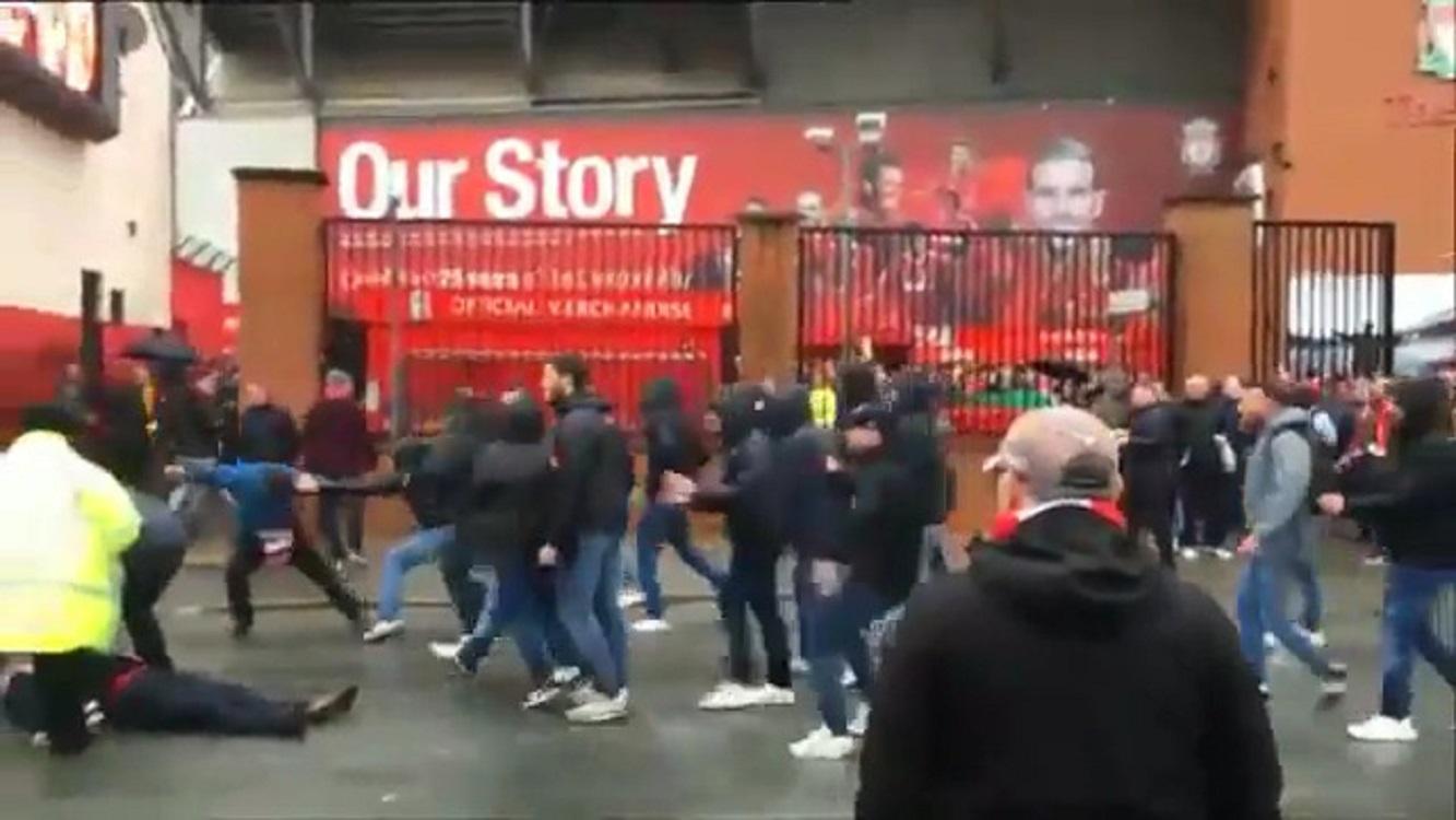 Liverpool-Roma, tre anni a un romanista per gli scontri col ferimento di Cox