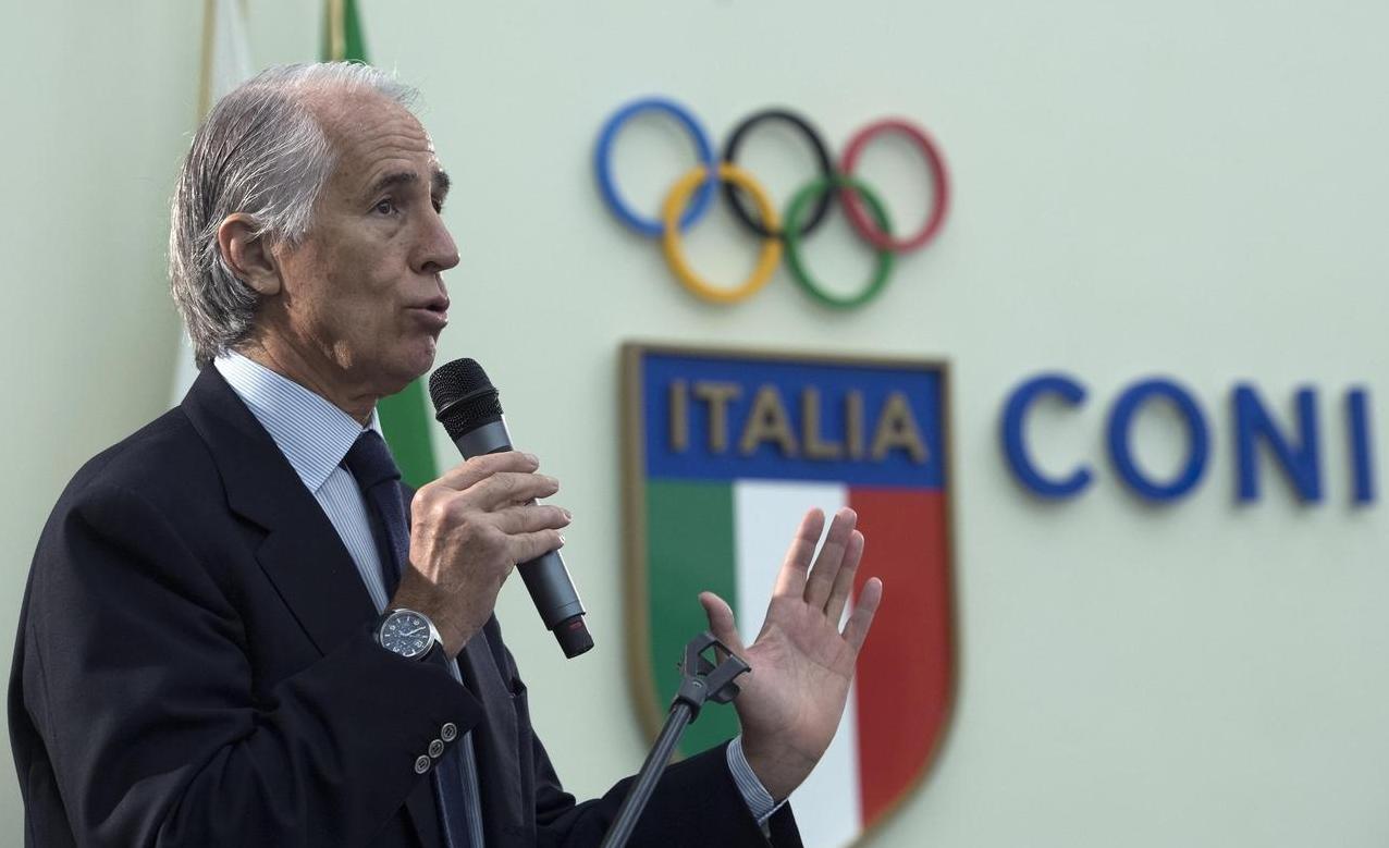 Malagò: «Lo scudetto? Penso lo vincerà il Napoli»