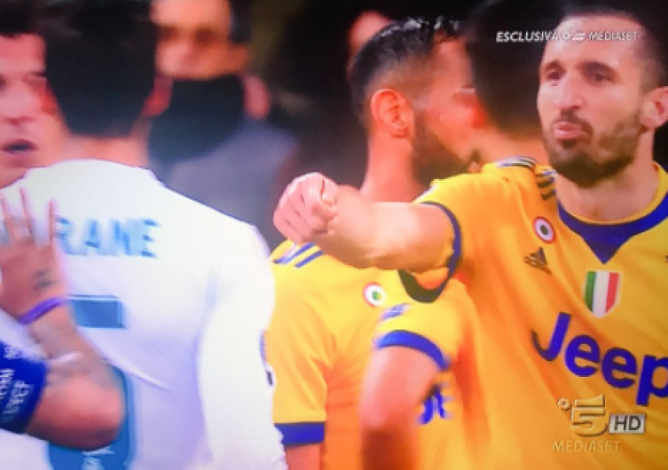 """You Pay"" di Chiellini ai calciatori del Real Madrid sbanca Youtube"
