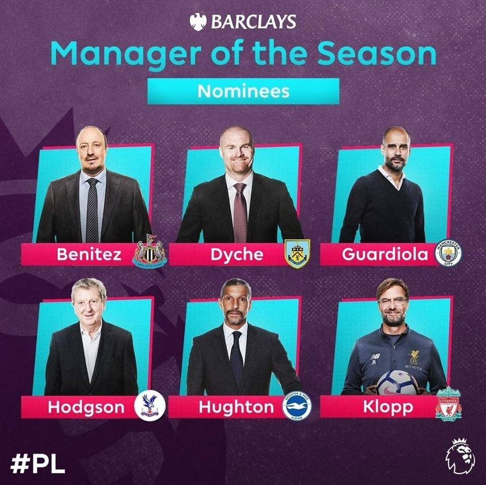 Rafa Benitez candidato come Manager dell'anno in Premier
