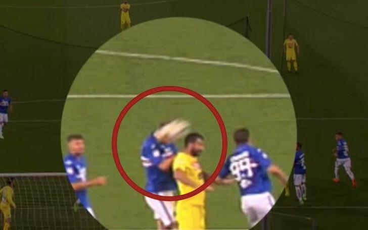 Sampdoria-Napoli, gol annullato a Mertens. Ma c'è il tocco di Andersen