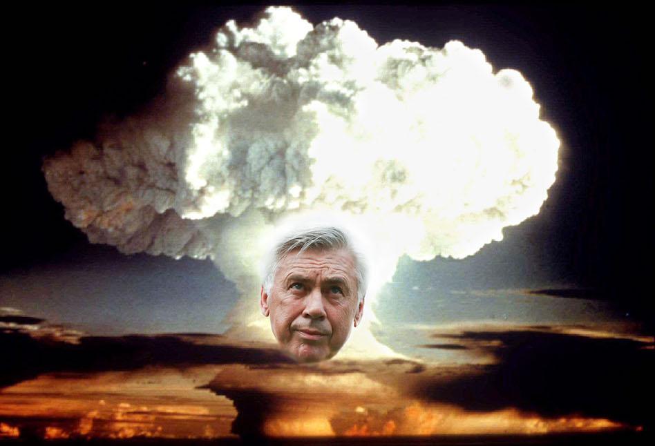 Ancelotti a Napoli è la Hiroshima del papponismo