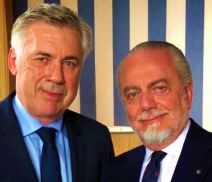 "De Laurentiis: ""Dovevo mandar via Ancelotti ad inizio stagio"