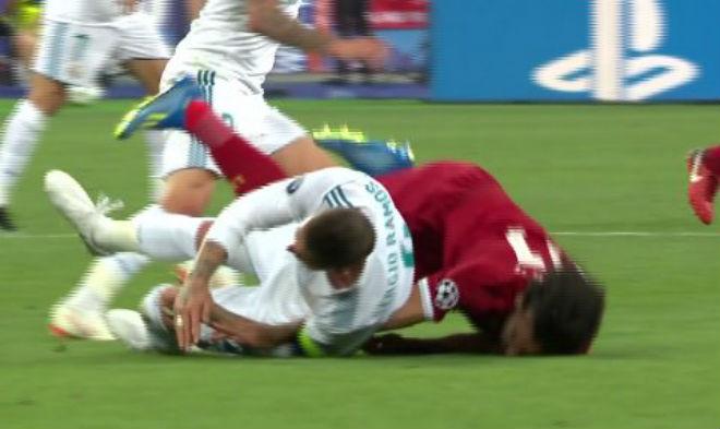 Sergio Ramos su Salah, un'intimidazione che ha deciso la Champions