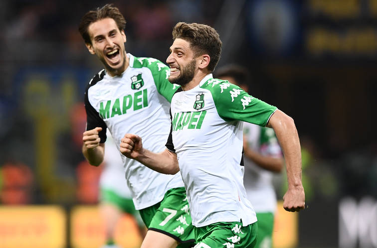Milik, Milinkovic-Savic, Giaccherini, Berardi: top e gol della settimana