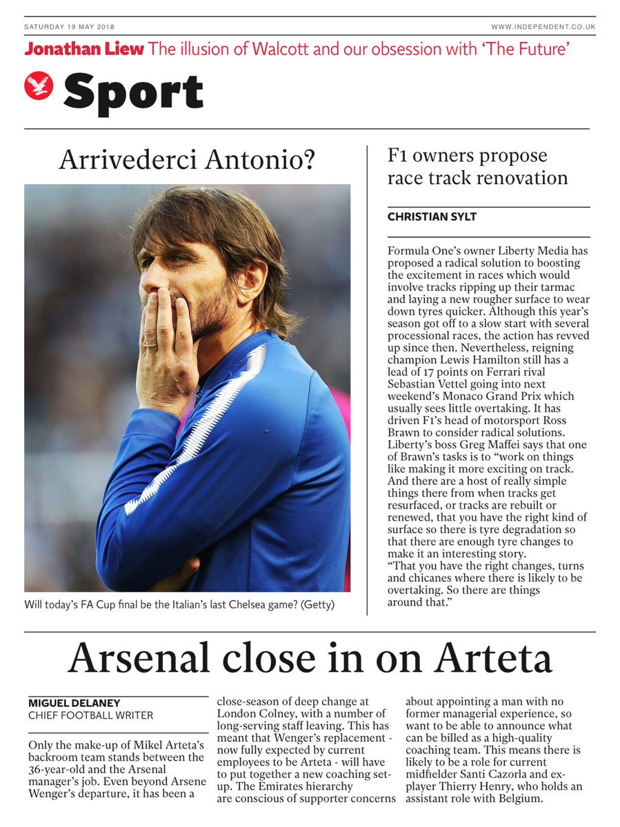 Oggi la finale di FA Cup, potrebbe essere l'addio di Conte al Chelsea