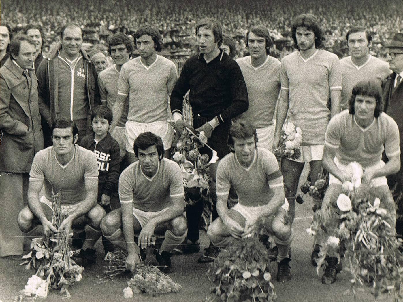 Napoli-Bologna 1-0, 1975: il giorno del ringraziamento per un altro scudetto mancato