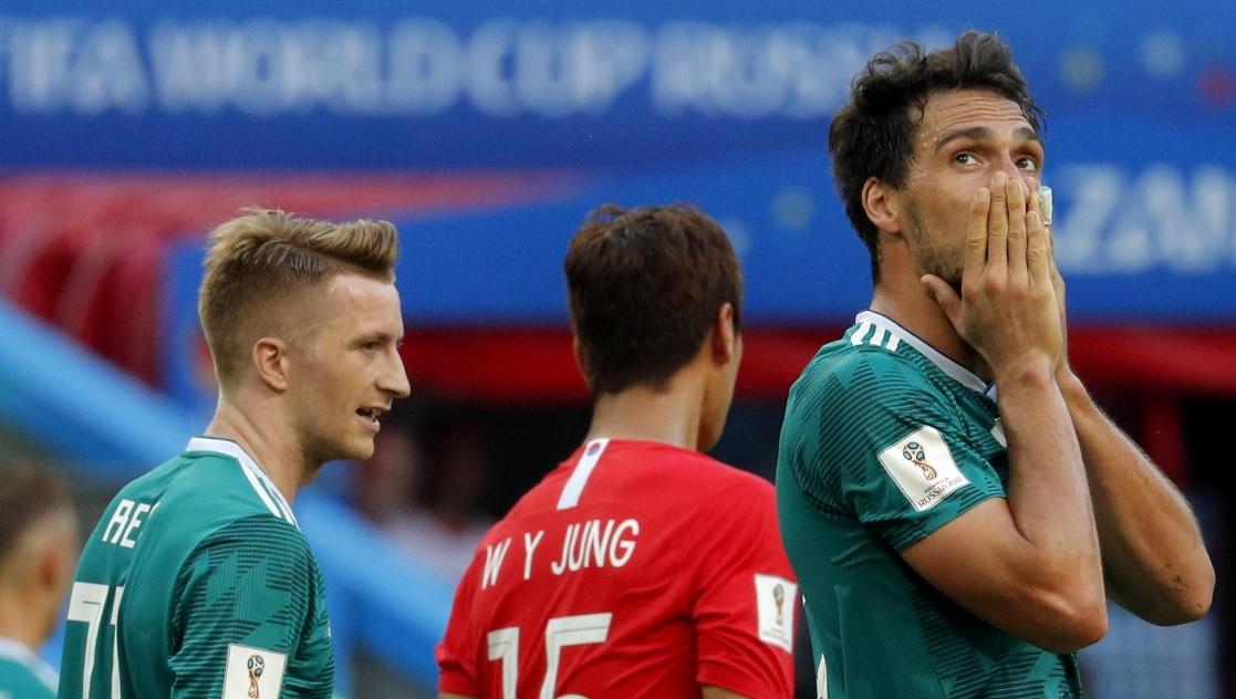 Anche la Germania ha la sua Corea: eliminata al primo turno, come nel 38 con Hitler