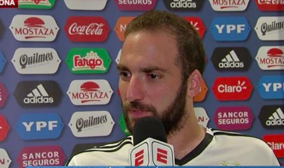Higuain a Espn: «Mi piacerebbe giocare in Premier League»