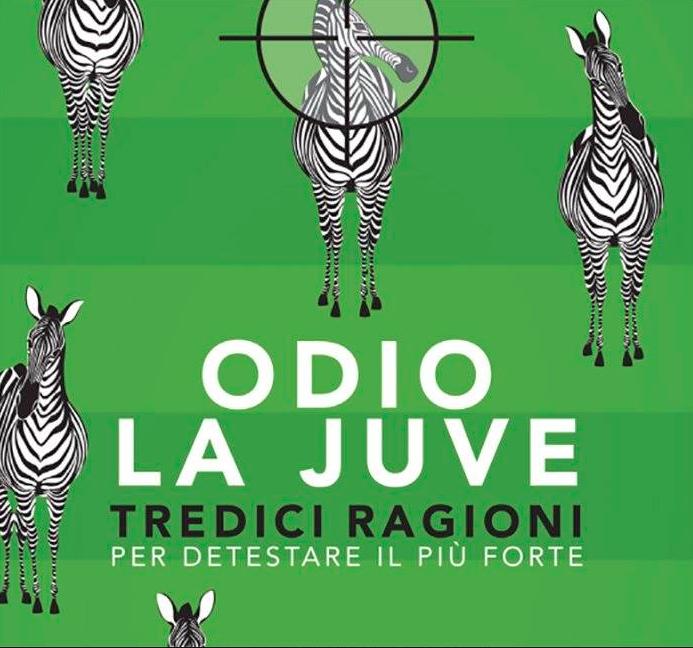 """Stasera a Napoli la presentazione del libro """"Odio la Juve"""""""