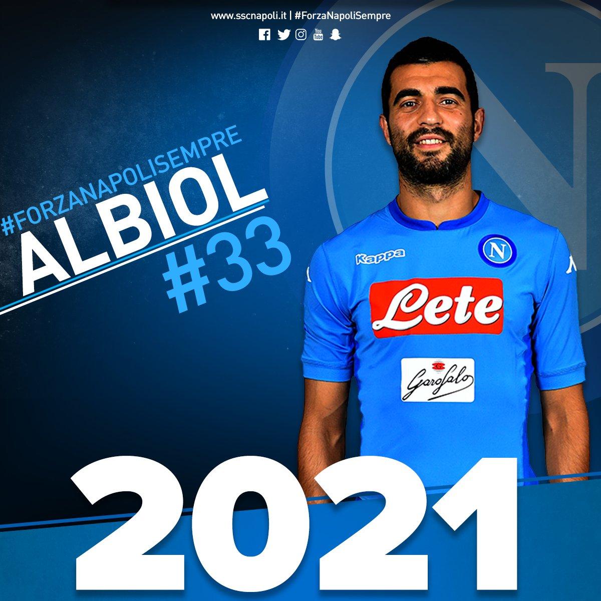 Altro che Villarreal o Chelsea, Albiol rinnova con il Napoli