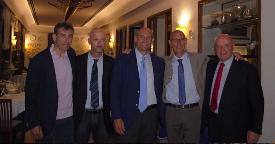 Tizzano, Abbagnale: trent'anni dopo a cena il quattro di coppia oro alle Olimpiadi 1988