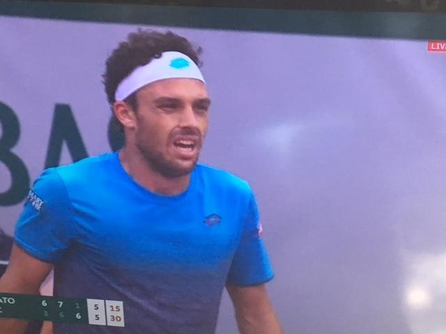 Finisce l'avventura di Cecchinato al Roland Garros