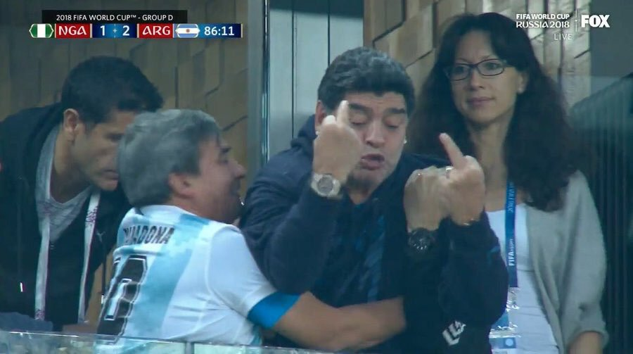 L'eterno moralismo su Maradona