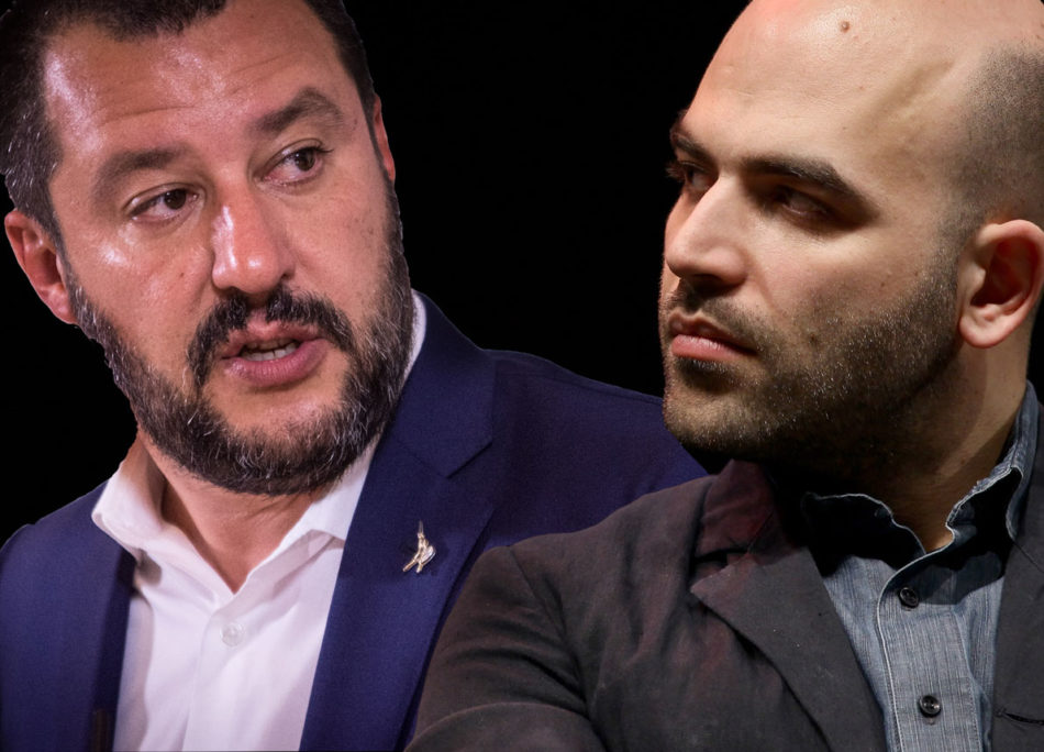 Ora de Magistris difende Saviano da Salvini. Ha dimenticato le sue accuse allo scrittore