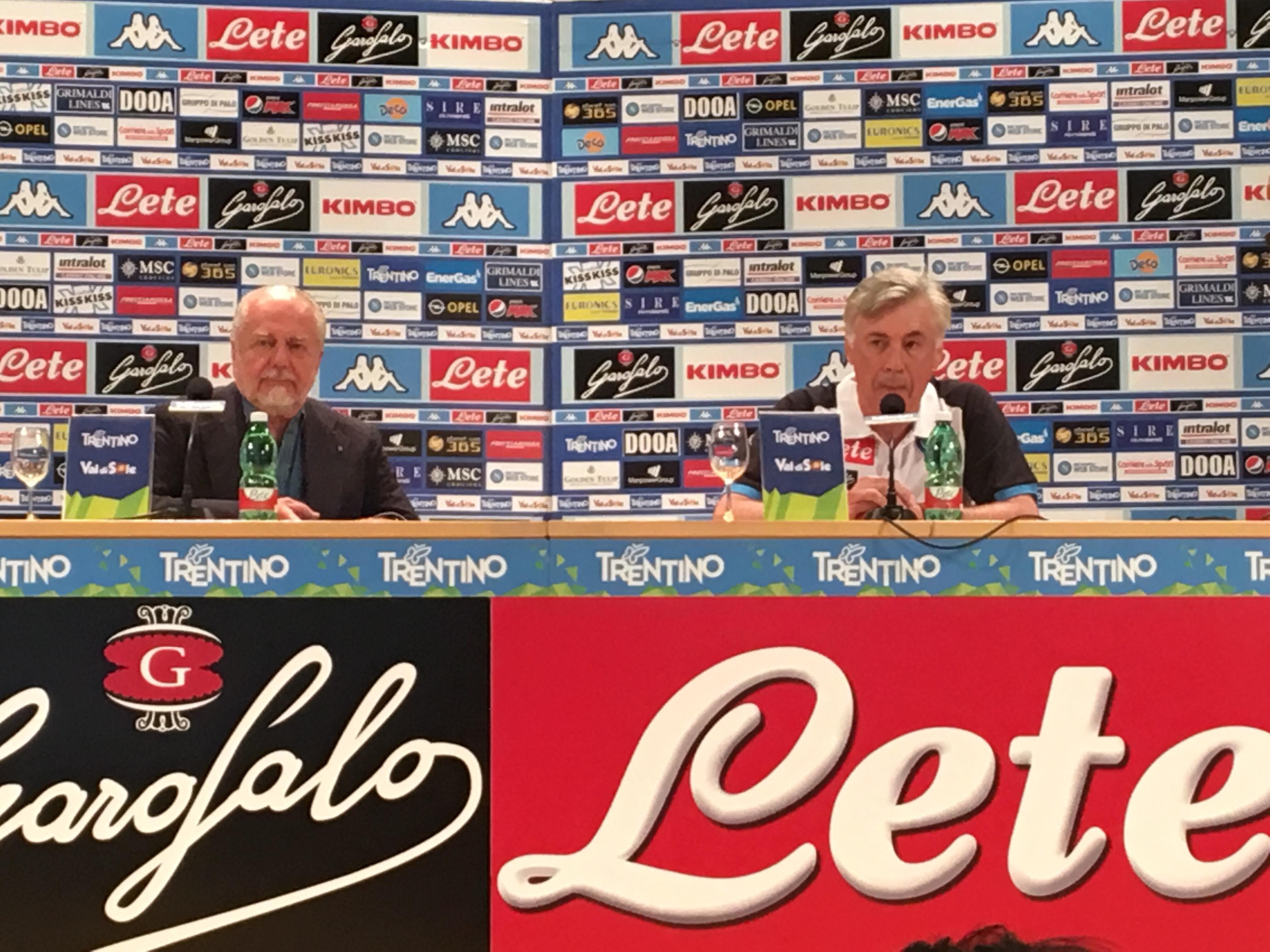 Ancelotti: «Ho scelto il Napoli perché è una squadra molto competitiva»
