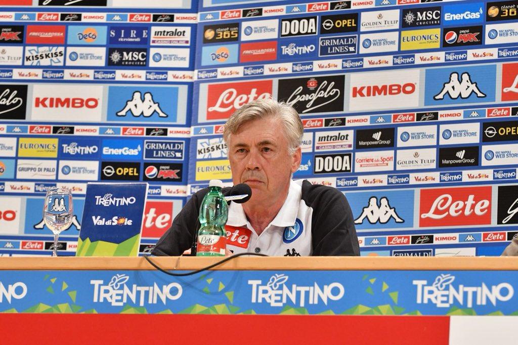 Ancelotti: «Il Napoli ha fatto il mercato che voleva fare»