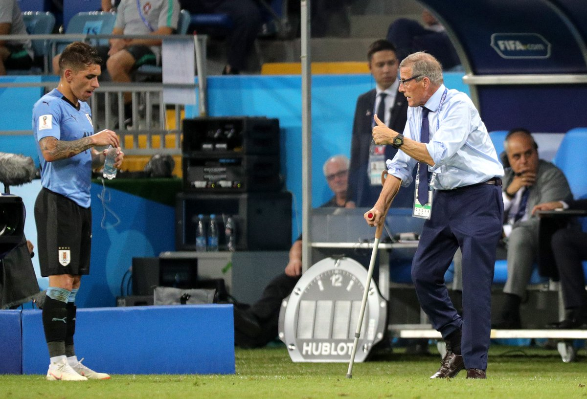 Oscar Tabarez è un uomo libero, e il suo Uruguay è già immortale