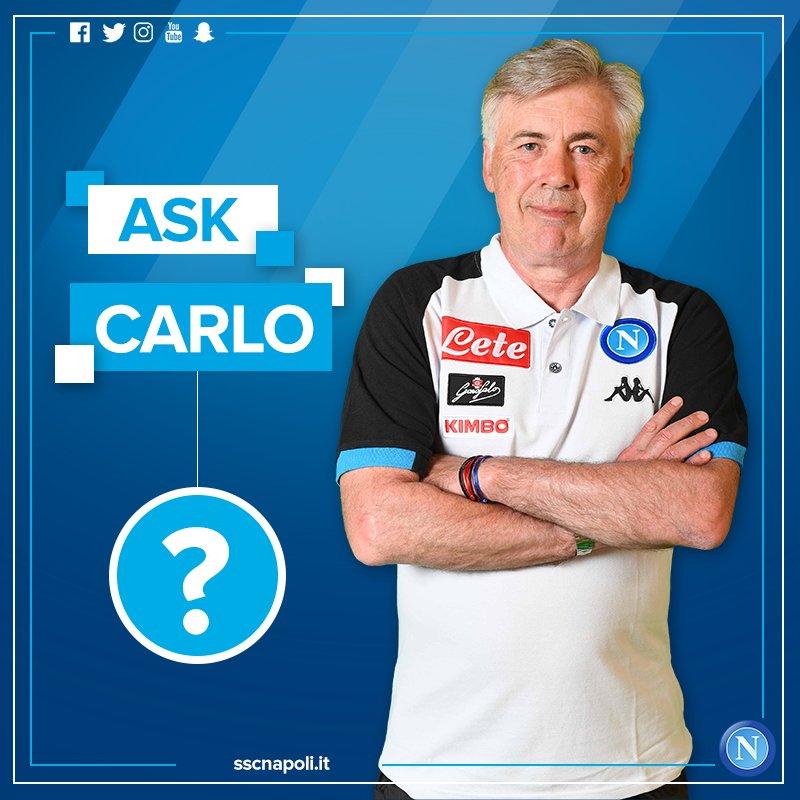 #AskCarlo, le domande dei tifosi ad Ancelotti su Twitter: tanto sfogatoio su De Laurentiis