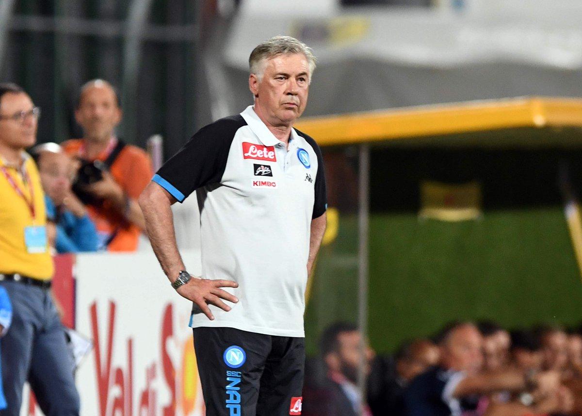 Ancelotti: «Non sono deluso o arrabbiato, il Napoli è mancato nella finalizzazione»