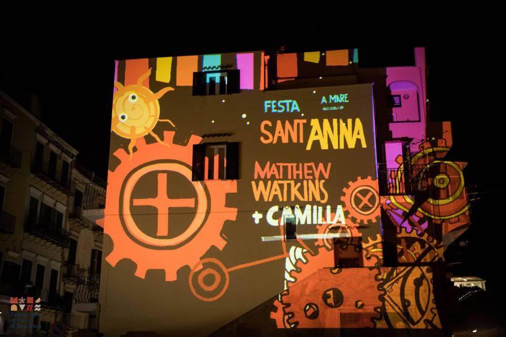 Ischia: lo spettacolo della digital art di Watkins aspettando Sant'Anna