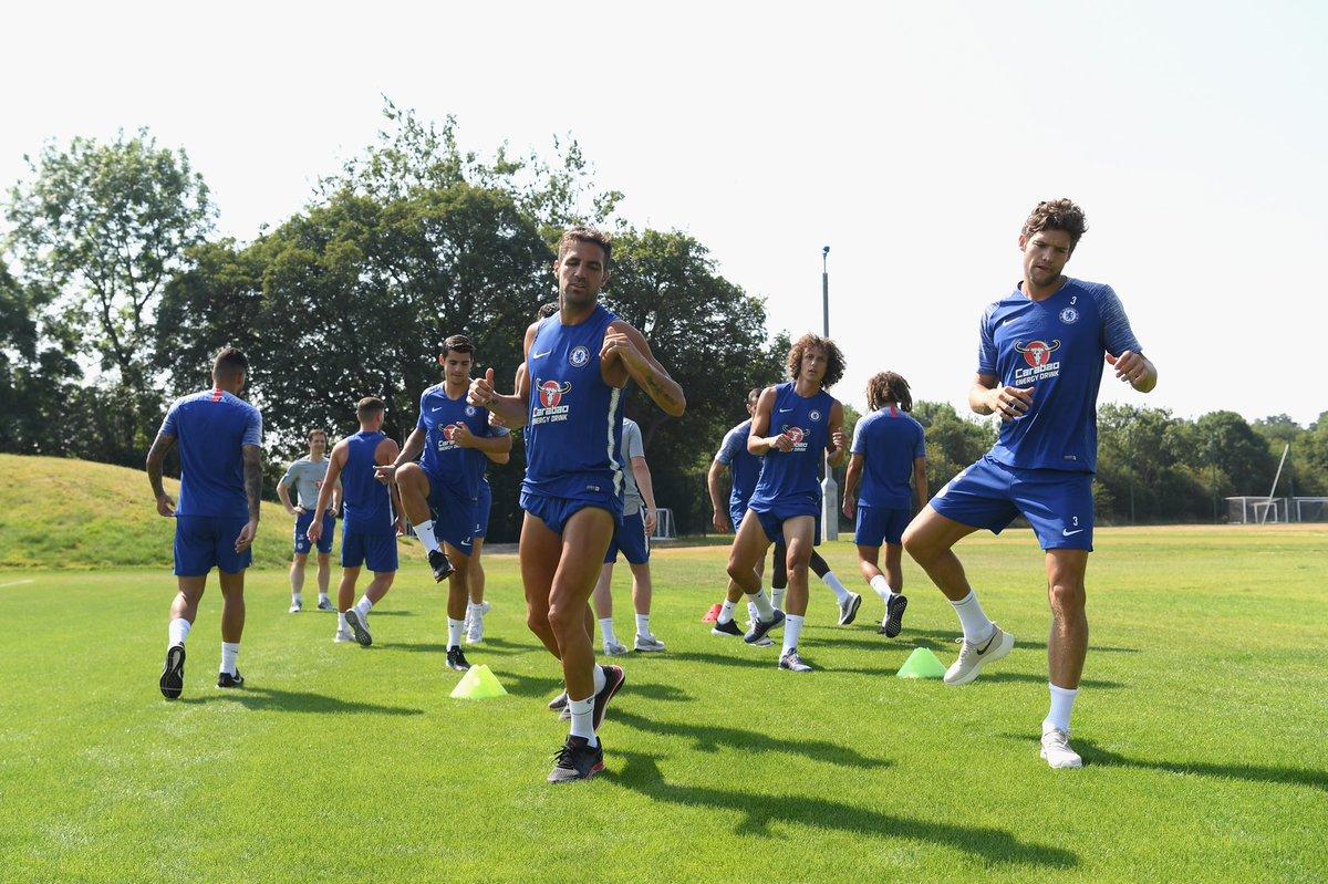 Prime foto del Chelsea su Twitter: non c'è Conte (che però è sul sito)