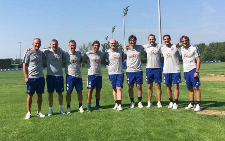 Ecco la prima foto (non ufficiale) di Conte allenatore del Chelsea