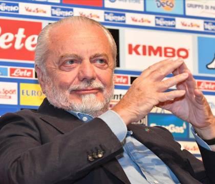 """De Laurentiis: """"Il prossimo campionato dovrebbe partire ad ottobre, al massimo fine settembre"""""""