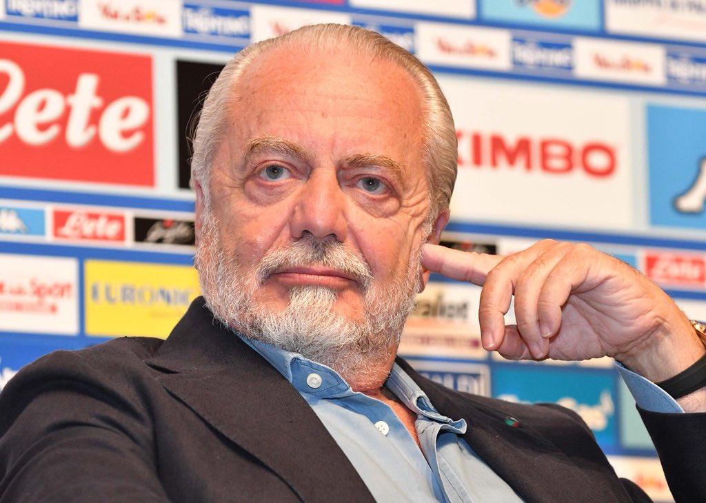 De Laurentiis: «Sarebbe bello cominciare la Serie A a Parigi, o Londra, Berlino»