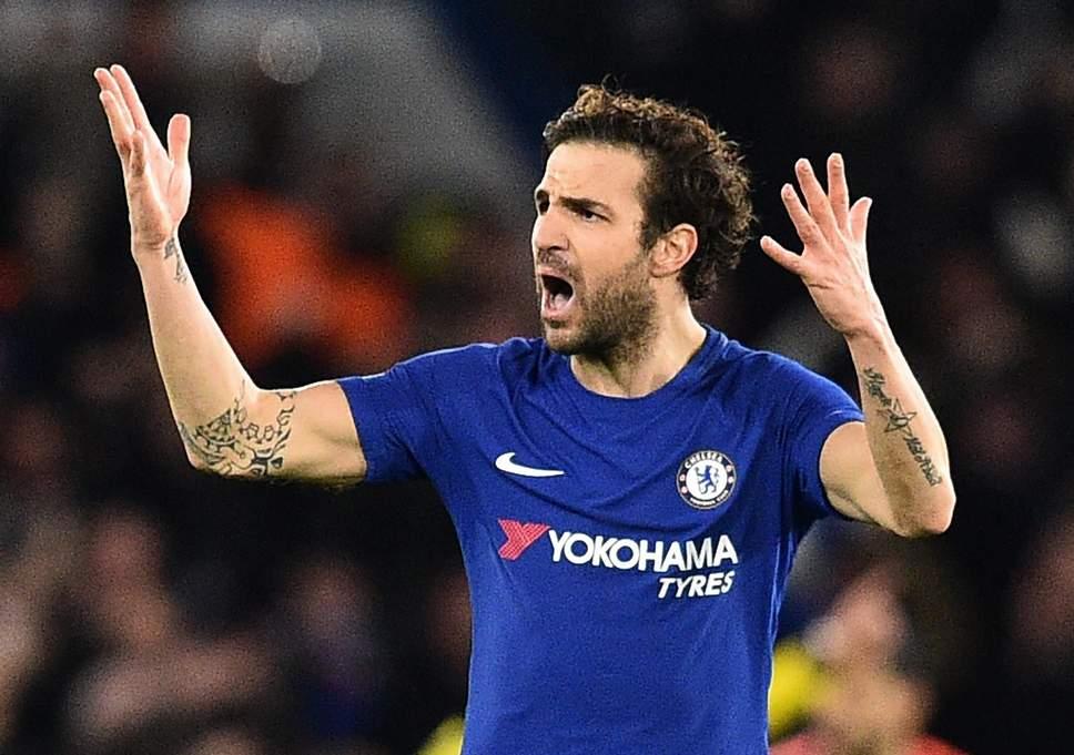 Repubblica Napoli: De Laurentiis potrebbe chiedere Fabregas al Chelsea