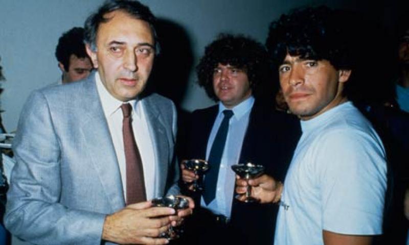 Ferlaino al Mattino: «CR7 va in una Juve forte, Maradona arrivò in un Napoli debole»