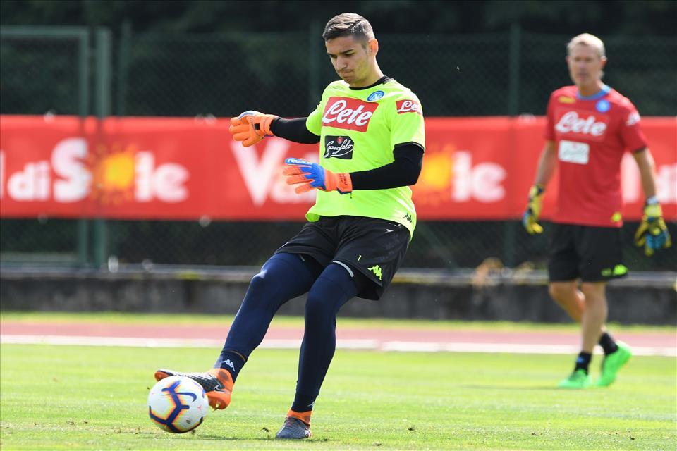 Meret si è allenato, potrebbe giocare Napoli-Frosinone